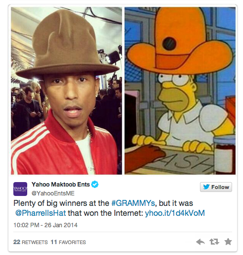 pharrell williams tweet
