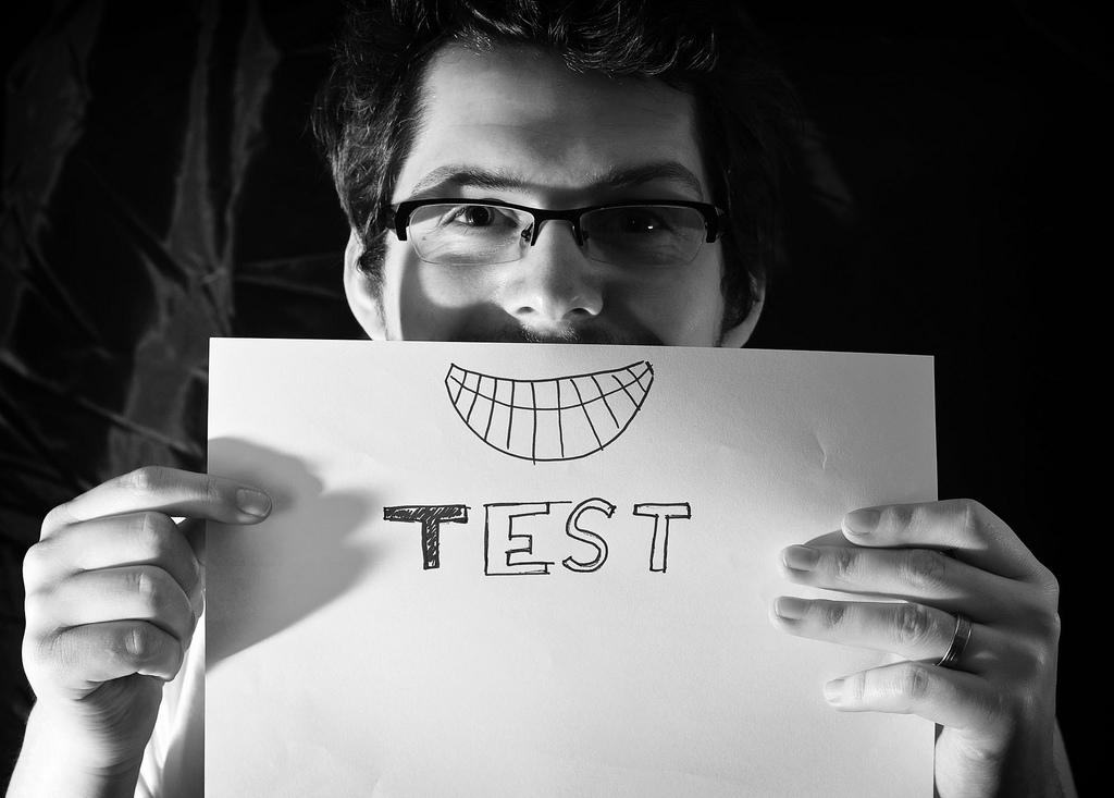 test content