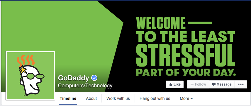 godaddy facebook cover photo