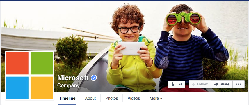 microsoft facebook cover photo